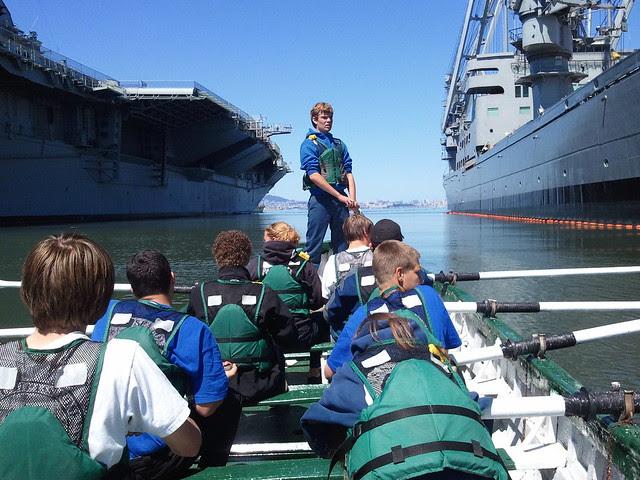 Compass Rose and Sea Fox During Flotilla Drill