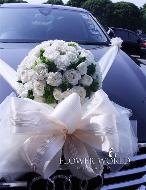 Fresh Flower Bridal Car Decoration   Fresh Flower Wedding