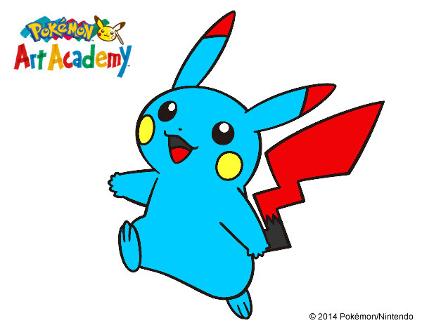Dibujo De Pikachu En Pokemon Art Academy Pintado Por Xkrules En