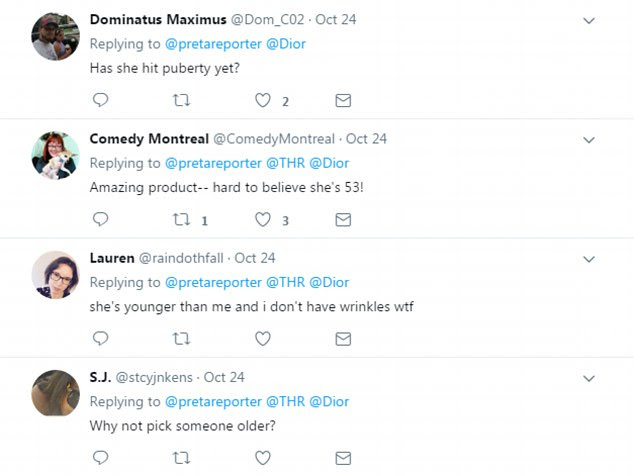 The announcement of Cara as the new face of Dior's anti-ageing Capture range provoked a furious response on Twitter