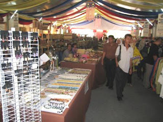 Visitors to the Craft Promotion venue