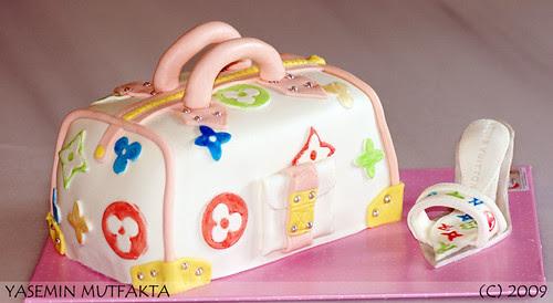 LV Canta Pasta / LV Bag Cake