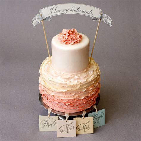 Southern Traditions: ?The Cake Pull?   Mariée Ami