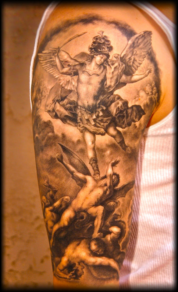 Horrible Angel And Demons Tattoo Ideas Tattoomagz