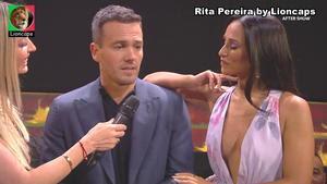 Rita Pereira sensual a apresentar o Dança com as estrelas 2020