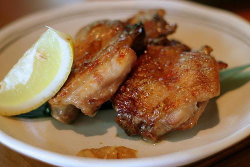 Tebasaki Shioyaki - Grilled Chicken Wing with Salt