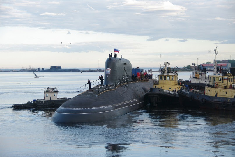 """Nuclear submarine with cruise missiles.  Pr.885. """"Severodvinsk"""" - 6"""