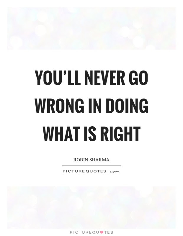 Doing Wrong Quotes Sayings Doing Wrong Picture Quotes