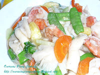 Vegetrable Stir Fry, Oyster Mushroom