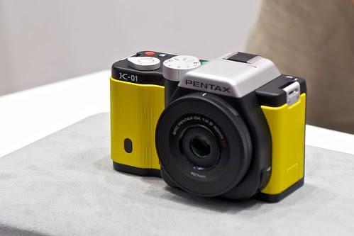 CP+ 2012  PENTAX K-01
