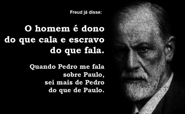 IMAGEM: Citação de Freud