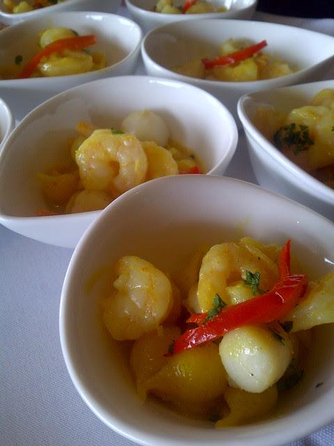 Quinoa pasta with shrimp & scallop 3