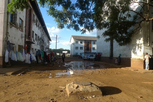 Mbare Township - as bad as it gets in Harare.
