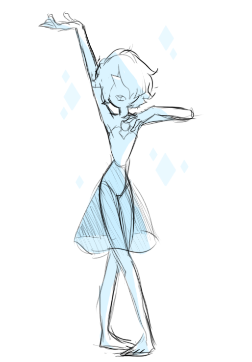 *tosses this super fast and sloppy blue pearl doodle at you all then goes to bed*