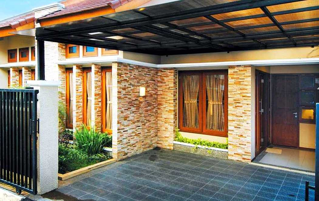 4700 Gambar Rumah Pake Batu Alam Gratis