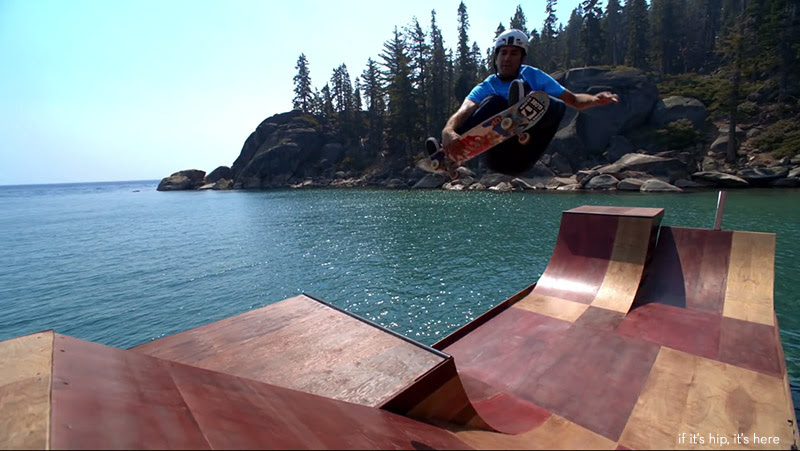 floating skate ramp 11 IIHIH