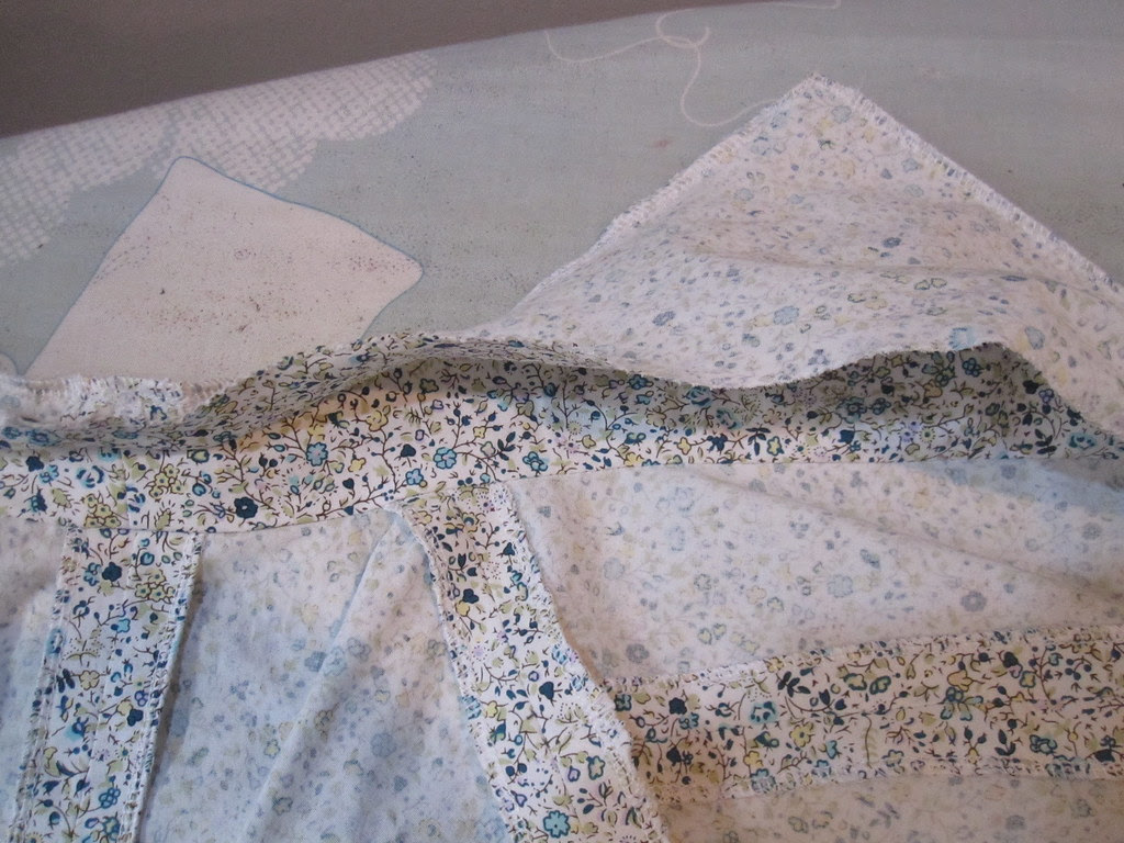 Stitch Upper Collar/Placket to Inner