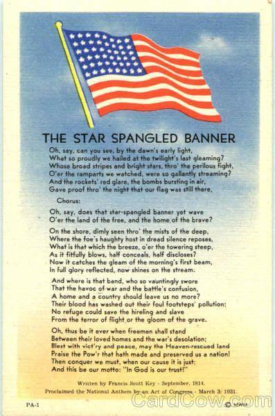 star spangled banner history war   star