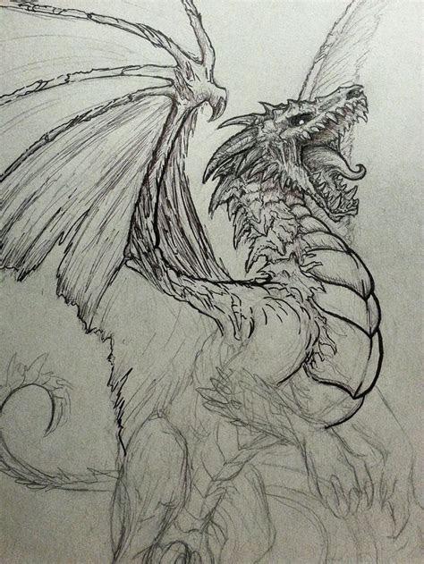 ideas  dragon drawings  pinterest