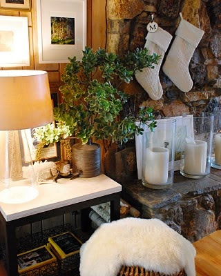 modern cozy christmas decor