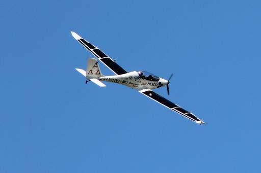 firma aeroespacial prueba con éxito avión solar