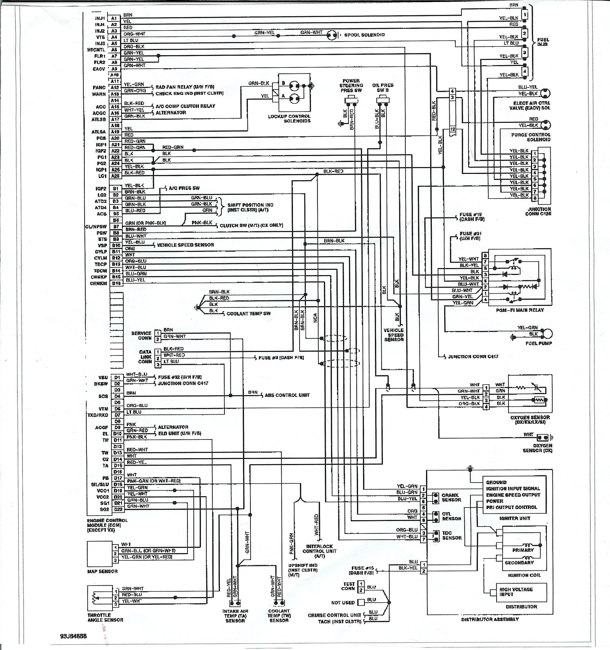 Honda Civic: 2005 Honda Civic Under Hood Diagram | 2005 Honda Civic Schematics |  | Honda Civic - blogger