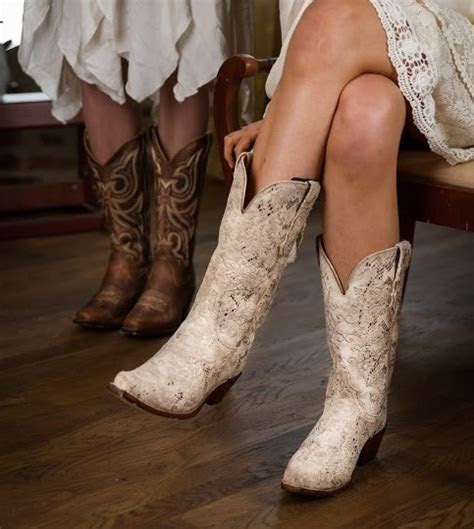 pair  perfect boots   wedding dress