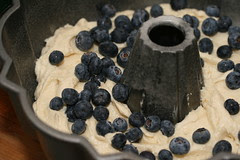 Food Librarian - Lemon Blueberry Bundt Cake