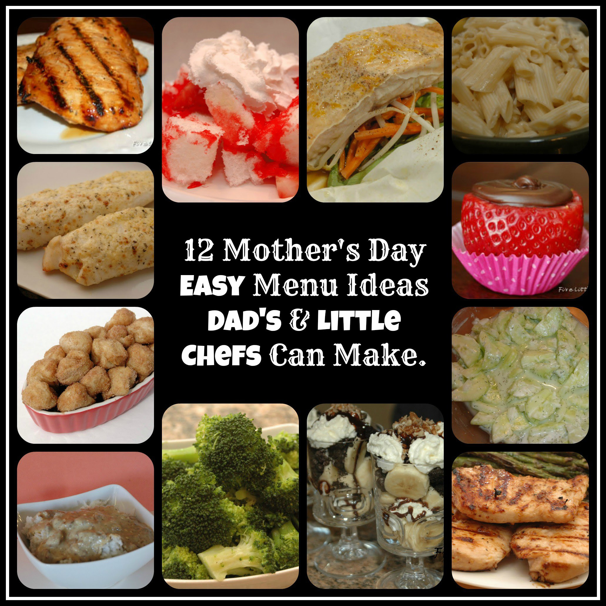 Mothers Day Menu Ideas Five Little Chefs