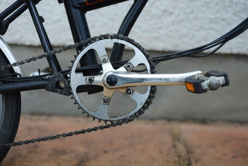 Stronglight Crankset, Early Brompton