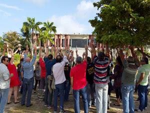 Servidores do Itep decidiram parar de recolher corpos no RN (Foto: Divulgação/Sinpol)
