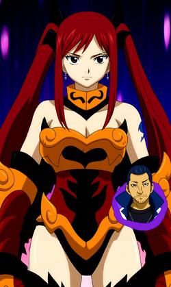 Flame Empress Armor - Close