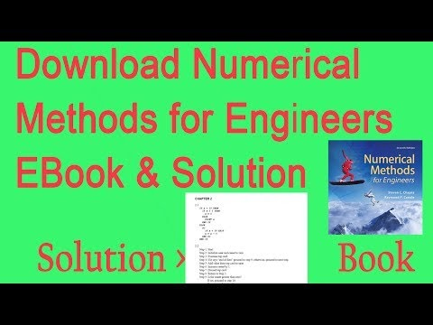 Numerical Methods For Engineers Ebook Solution Download Download Pdf
