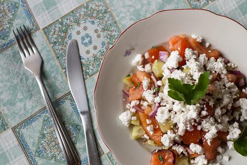 Shopska salat / Shopska salad