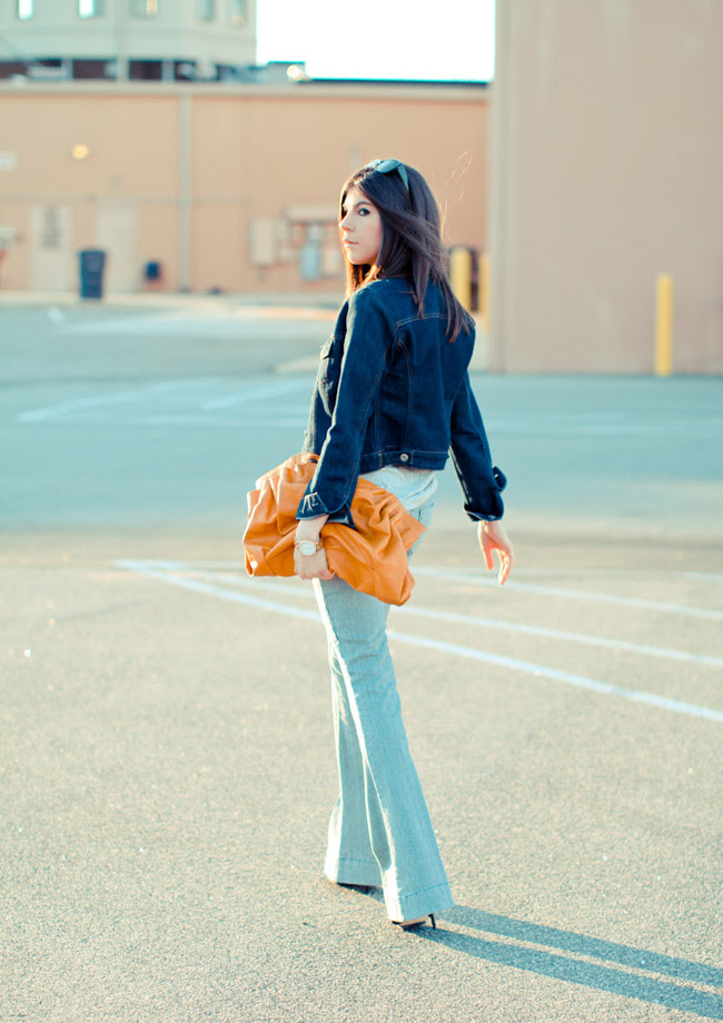 Alexander Wang Tank, Marc Jacobs watch, Sold Design Lab jeans, LAMB sandals, Gap Fashion outfit