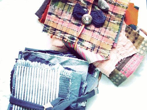 a gift of fabrics