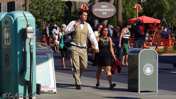Disney California Adventure, Cars Land, Dapper Day