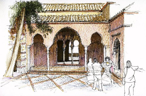 Málaga, Alcazaba, Cuartos de Granada