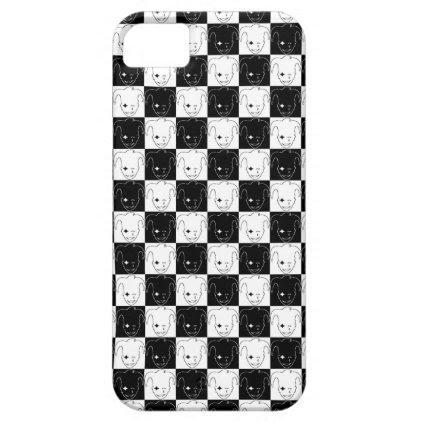 Checkered MTJ iPhone SE/5/5s Case
