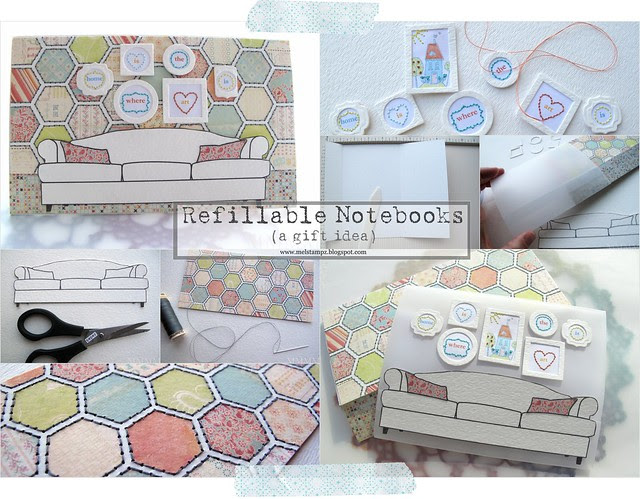 Tiffany Doodles Couch notebooks collage mel stampz copy