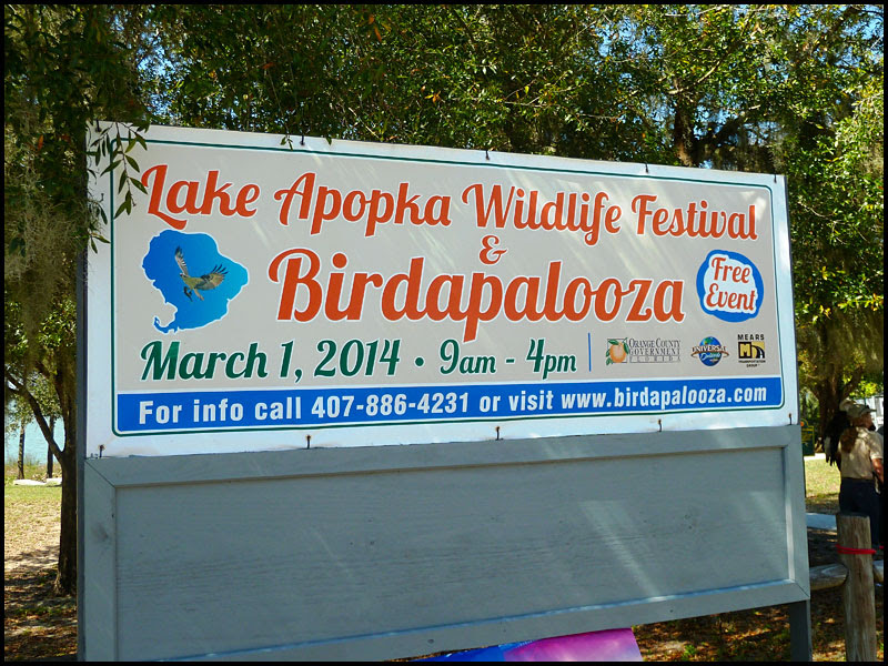 Birdapalooza Sign