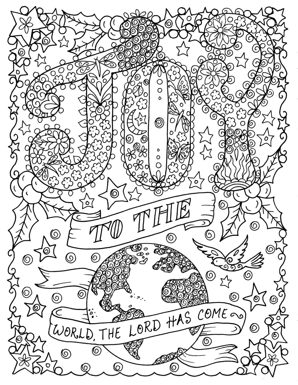 Christian Adult Coloring Pages at GetColorings.com | Free ...