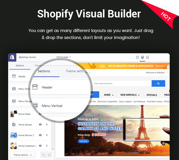 BestShop - Multipurpose Responsive Shopify Theme with Sections