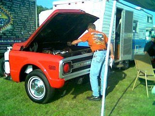 Custom grilling from the front of your vehicle. Really Neat BBQ Grills