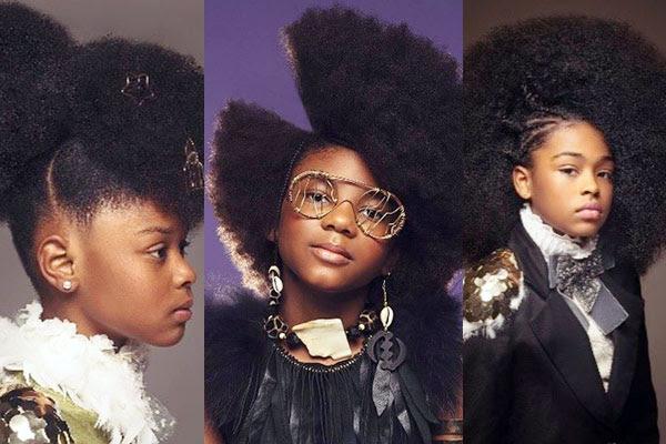 Afro Art La Coiffure Africaine Magnifiée Sur Les Cheveux De