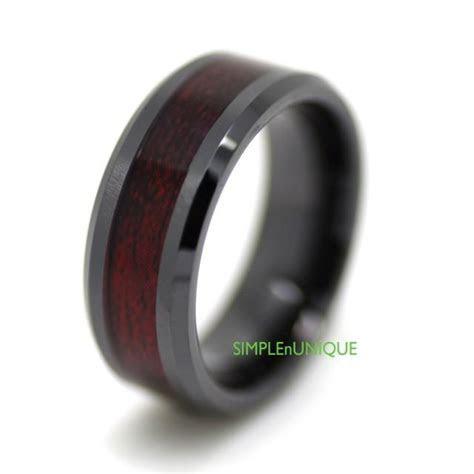 Ceramic Ring, Mens Wedding Band, Mens Ring, Promise Rings