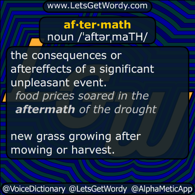 aftermath 11/08/2016 GFX Definition