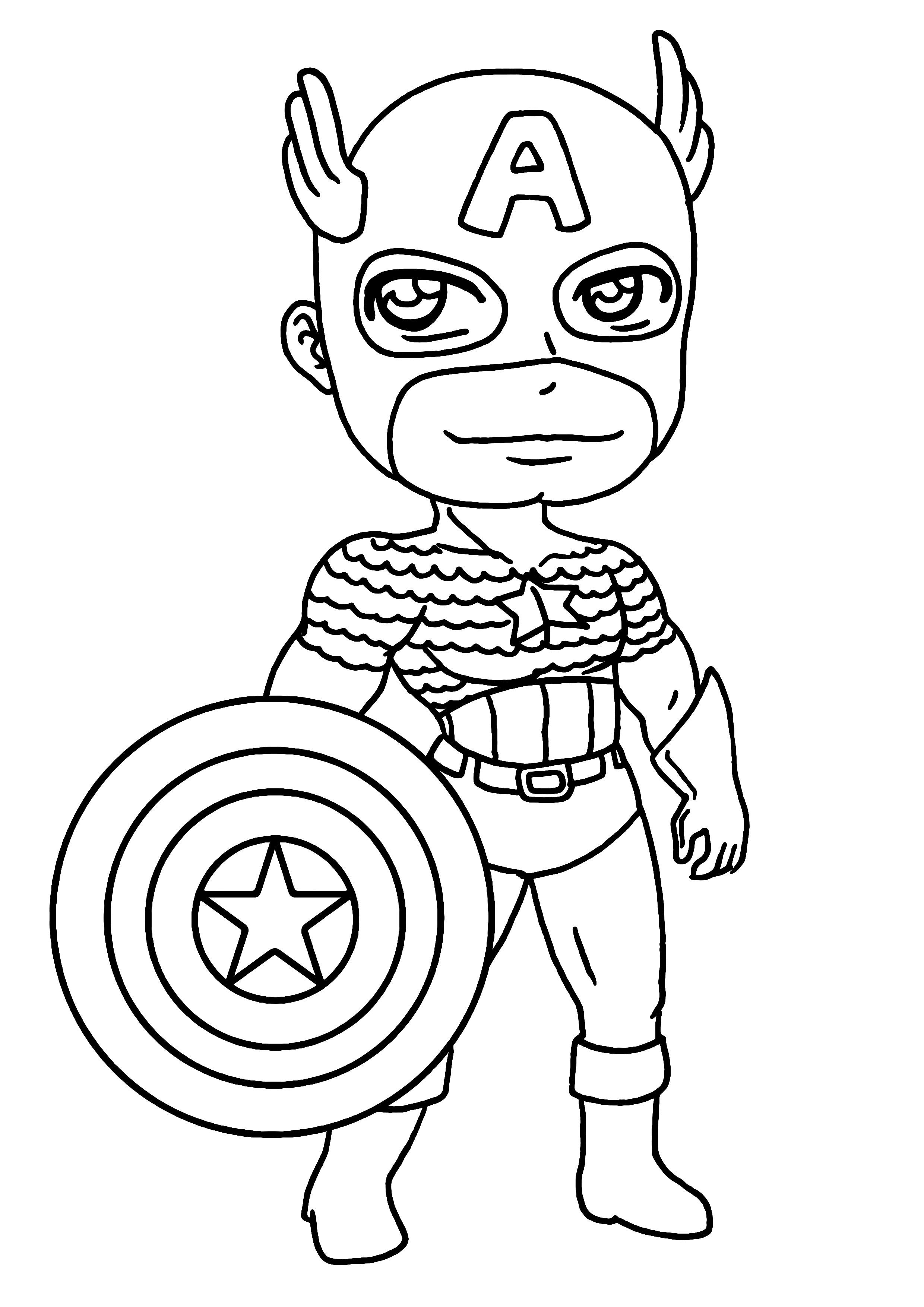171 Dibujos De Superhéroes Para Colorear Oh Kids Page 16