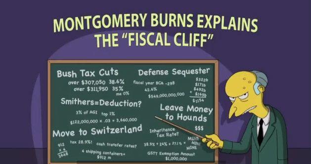 FiscalCliff-MrBurns