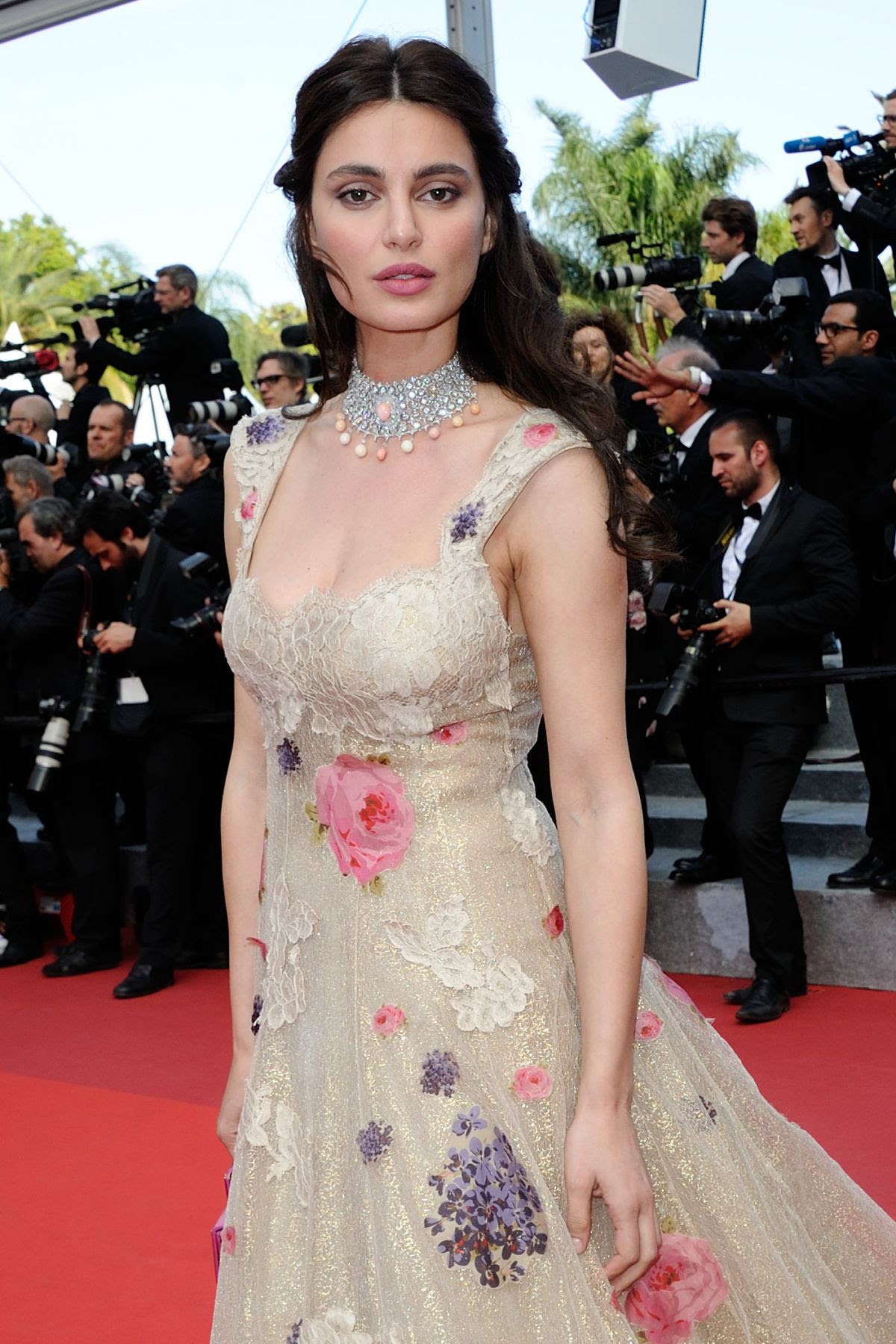 CATRINEL MARLON at 'The Unknown Girl' Premiere at 69th Annual Cannes Film Festival 05/18/2016
